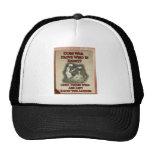 Poster pacifista gorra