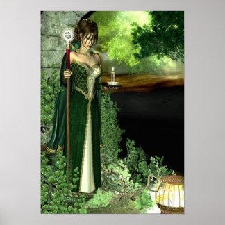 Poster pagano - alcohol del bosque [A3] Póster