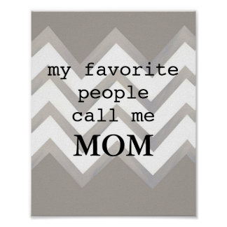 poster painted chevron pattern with quote