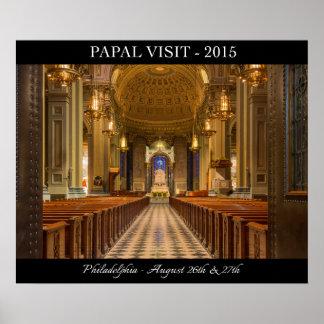 Poster papal 2015 de Philadelphia de la visita