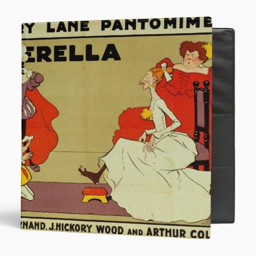"Poster para 'Cinderella Carpeta 1 1/2"""