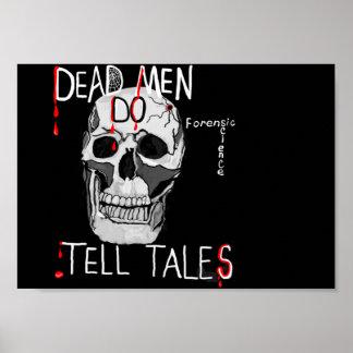 poster para el cráneo y la cita de los amantes de