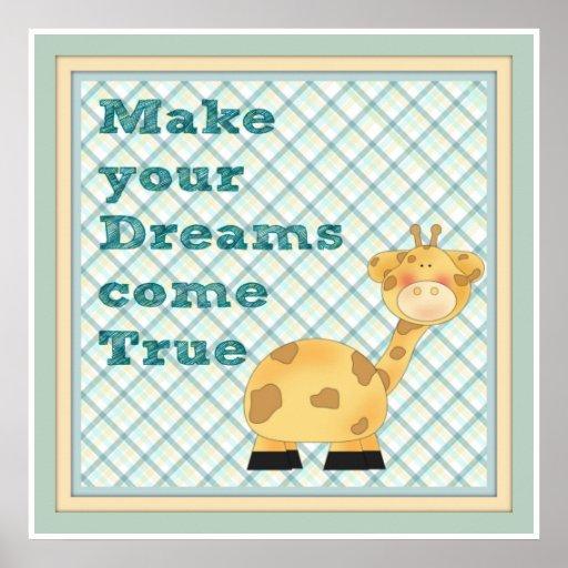 Poster para el cuarto del bebé
