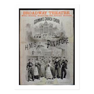 """Poster para el """"delantal del HMS"""", realizado por Postal"""