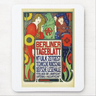 Poster para el periódico Tageblatt berlinés, 1899 Mousepad