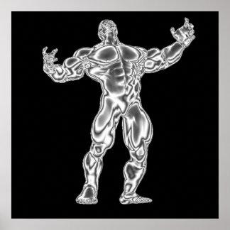 Poster para hombre del Bodybuilding