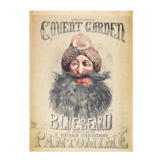 Poster para una pantomima del navidad lienzo envuelto para galerías