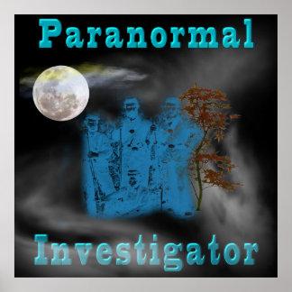 poster paranormal del investigador