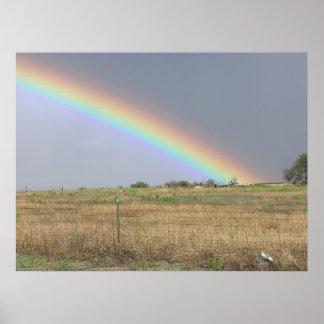 Poster parcial del arco iris póster