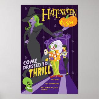Poster pary de Halloween