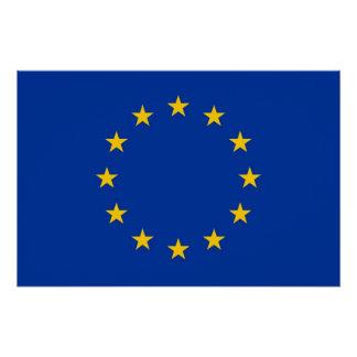 Poster patriótico con la bandera de la unión perfect poster