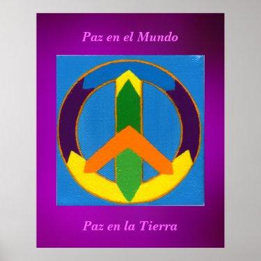 Póster - Paz en el Mundo Posters