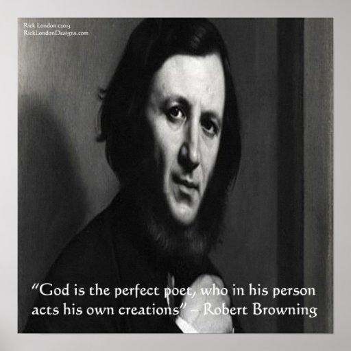 Poster perfecto de la cita del poeta de dios de Ro