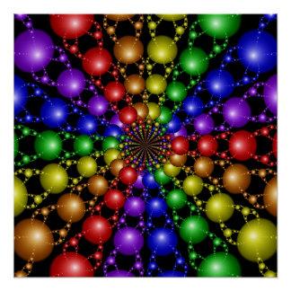 Poster perfecto del arco iris de Newton Perfect Poster