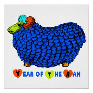 Poster perfecto del ejemplo del año de 2015 ovejas perfect poster