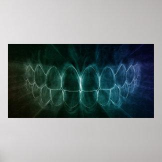 Poster perfecto del Orthodontist del dentista de