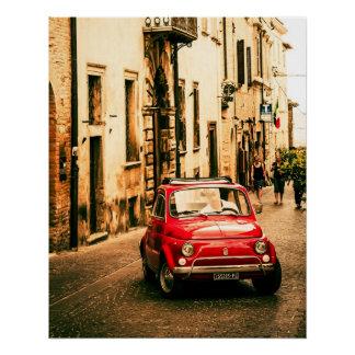 Poster perfecto el | Fiat el 500% el pipe% Roma Perfect Poster