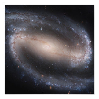 Poster perfecto espiral barrado de la galaxia (NGC Perfect Poster
