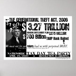 Poster perpetuo de la deuda