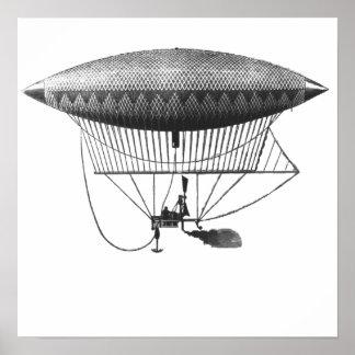 Poster personal del dirigible