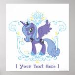 Poster personalizado de Luna Póster