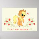 Poster personalizado del aguardiente de manzana