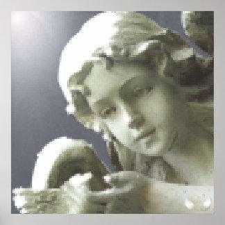 Poster-Personalizar angelical del deslumbramiento