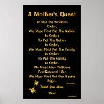 Poster-Personalizar de la búsqueda de una madre
