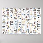 Poster - Pharaoh (White Background)