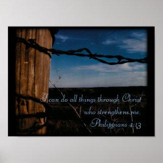 Poster - Philippians 4:13