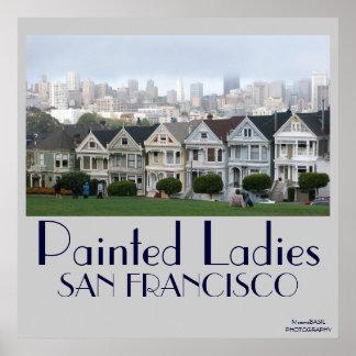 Poster pintado de las señoras