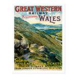 Poster pintoresco ferroviario de Great Western Paí Tarjetas Postales
