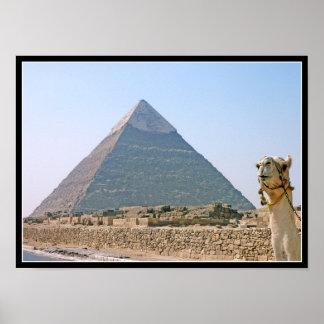 Poster: Pirámide de Khafre