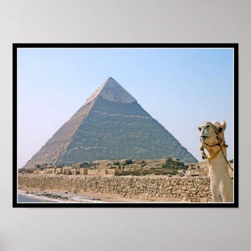 Poster: Pirámide de Khafre Póster