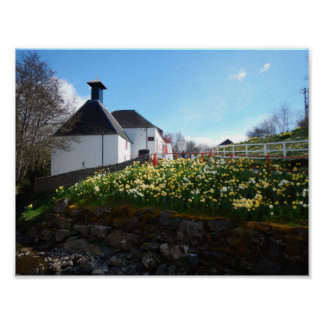 Poster - Pitlochry, Scotland