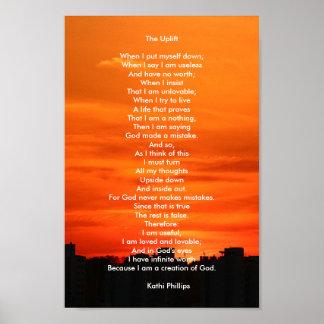 "Poster: Poem ""The Uplift"" Poster"