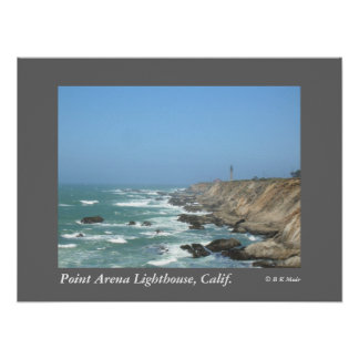 Poster - Point Arena Lighthouse, Calif.