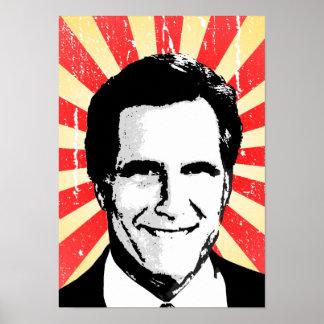 POSTER POLÍTICO de la PROPAGANDA, Mitt Romney 2
