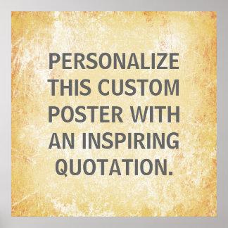 Poster preferido de la cita, personalizado persona