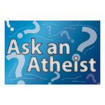 Poster - pregunte a ateo