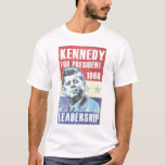 Poster presidencial histórico de John F. Kennedy Playera