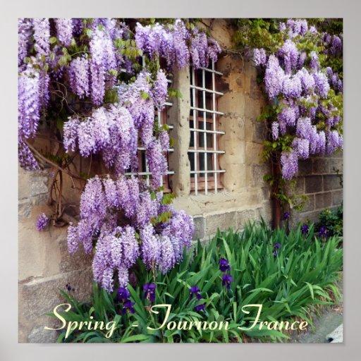 POSTER - primavera - Tournon Francia