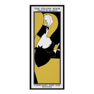 "Poster Print: Aubrey Beardsley ""The Yellow Book"""