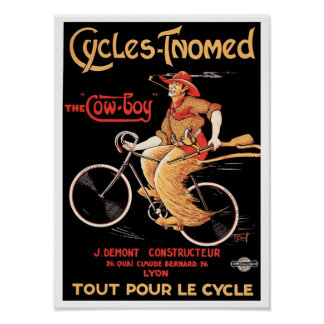 "Poster/Print: Cycles Tnomed ""The Cowboy"" Poster"