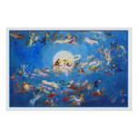 """Poster/Print: """"Dance Around the Moon"""" by C. Doyle"""