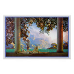 Poster/Print: Daybreak - Maxfield Parrish Poster