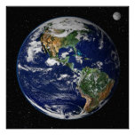 Poster/Print:   Earth from Space - NASA