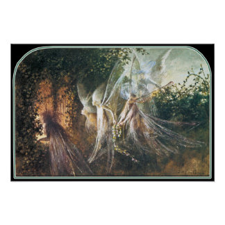 Poster/Print: Fairies by John Anster Fitzgerald