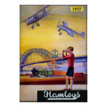 Poster/Print: Hamley's Toy Airplanes