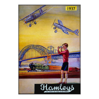 Poster/Print: Hamley's Toy Airplanes Poster